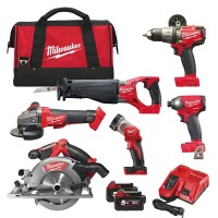 Набор MILWAUKEE M18 FUEL FPP6A-502B